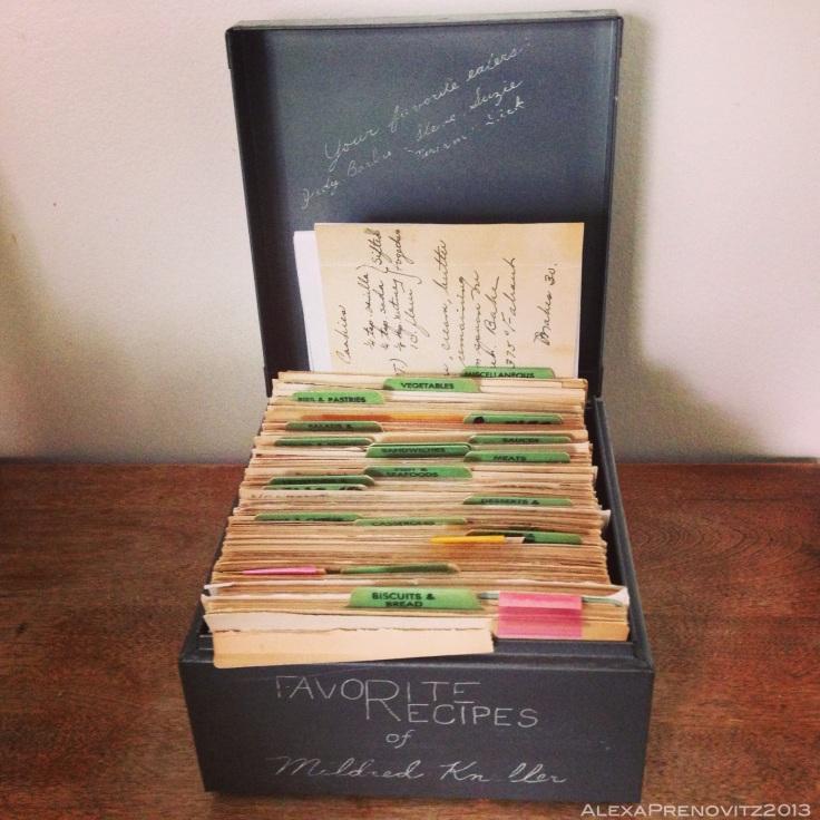Nana's Recipe Box