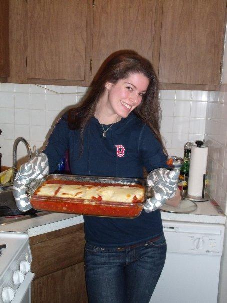 Tiny kitchen cooking escapades circa 2009