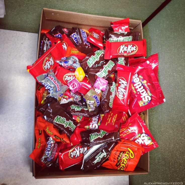 Everybody loves a shoebox full of candy.